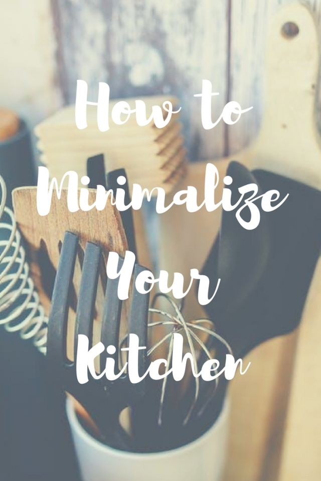 How to Minimalize Your Kitchen