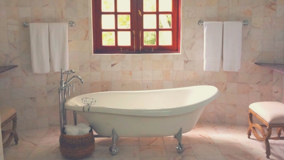 How to minimalize your bathrooms abundant life with less for Abundant life beauty salon